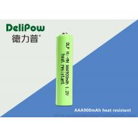 High Temperature AAA Rechargeable Batteries , Nimh Rechargeable Aaa Batteries 900mAh
