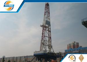 China Steel Hydraulic Drilling Rig With All Digital Auto Control Auto Bit Feeding System on sale