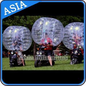 China Bubble Footballs , PVC and TPU Bumper Balls , Bubble Soccer ball , Human bubble football on sale