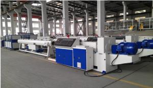China 63mm-800mm Diameter Two Screw Extruder / PVC Flexible Pipe Production Line on sale