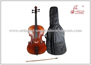 China Durable brown varnish Musical Instrument Cello Full Size Musical Aileen on sale