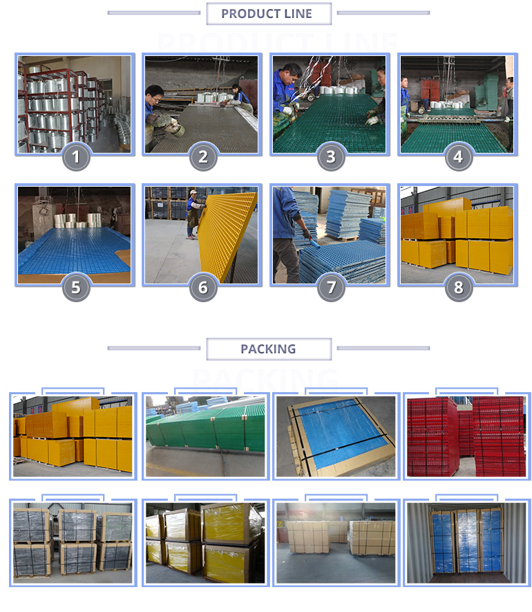 China Fiberglass Reiforced Plastic Grating