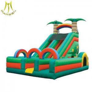 China Hansel  outdoor amusement kids games for inflatable theme park inflatable playhouse for kids on sale
