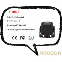 China Analog Car Surveillance Camera / Car Recorder Camera With Wide Angle Car Rearview on sale