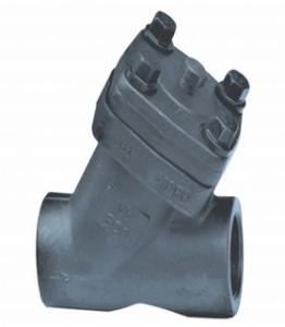 China Forged A105 Y Type Check Valve Lift Type 2 Inch Full Open Design on sale