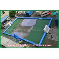 Adults PVC Tarpaulin Kids Inflatable Soccer / Football Field Court for Outside