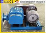 Colored Twin Lobe Roots Blower , OEM Service Sewage Treatment Plant Blower