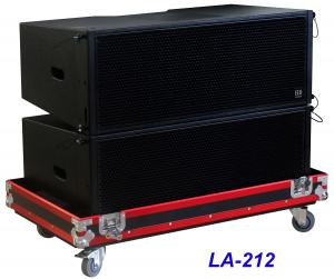 China LA-212 Line Array Speaker 3 way 1560W High Power Dynamic , Clarity for Big Concert , Show and Church on sale