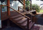 Customized Stainless Steel Wire Railing Systems , Stainless Steel Wire Balustrade