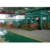 PLC Automatic Steel Coil Slitting Machine , Core Slitting Machine 0-110m/Min Line Speed