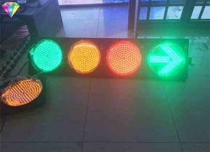 China Red Green Traffic LED Display Flashing Traffic Light Yellow / Red / Green With Arrows on sale
