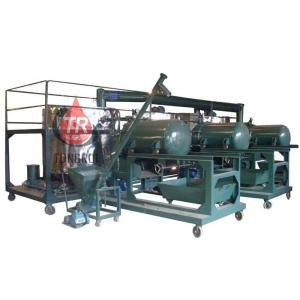 China Low Noise Used Motor Oil Recycling Equipment , Multi Function Waste Oil Refinery Machine on sale
