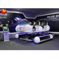 China Six Seats 5d Cinema Virtual Reality Simulator 6Dof Motion VR Cinema Seats on sale