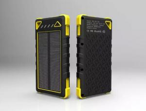 China Waterproof Solar Charger 8000mAh Solar Power Bank External Battery 2.1A Solar Charger on sale
