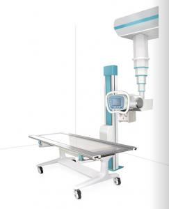 China Ceiling Type Digital X-Ray Machines DR With Amorphous Silicon Flat Panel Detector Kenid DRX S50 on sale