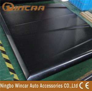 China Waterproof Tri Fold Tonneau Covers For Pickup Trucks , Lid Cover For Navara / Amarok on sale