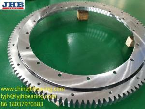 China RKS.21 0641 slewing bearing ball bearing with flange and teeth 742x534x56mm on sale