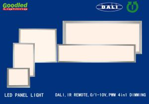 China IP40 DALI Dimming 40W CCT 3000K-6000K LED Flat Panel Lights For Home on sale