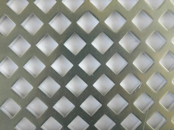 Architectural Decorative Perforated Stainless Steel Sheet With