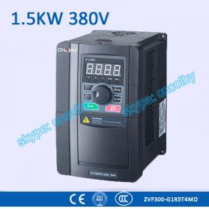China 1.5kw 380V CNC Variable-Frequency Drive motor AC drive AC-DC-AC 50Hz/60Hz frequency converter transducer Three Phase VFD on sale