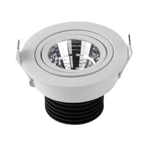 China 180degree rotatable 7W led Japan imported citizen chip cob downlight led boat light chrome on sale