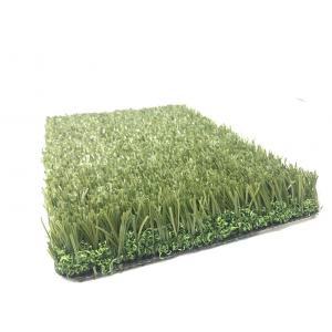 China Indoor / Outdoor Artificial Football Turf Good Water Permeability Low Maintenance on sale