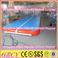 Indoor Gymnastics Equipment Inflatable Air Mats For Jump , Dance