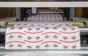 Quality Roll Paper Automatic Die Cutter , Commercial Die Cutting Machine With Creasing for sale