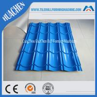 Color Steel Glazed Tile Roll Forming Machine / Roof Wall Cladding Roll Former Machine