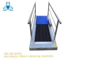 China SS304 Shoe Sole Cleaner Machine With Handle on sale