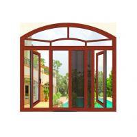 CA ,CE Aluminium Window Extrusion Profiles / Aluminum Tharmal Break Casement Window