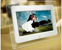 China SD Card Media Digital Photo Frame For Display Advertising Support Motion Sensor on sale