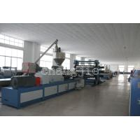 PVC / WPC Plastic Board / Sheet Production Line Thickness 0.2-20mm