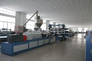 China PVC / WPC Plastic Board / Sheet Production Line Thickness 0.2-20mm on sale