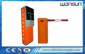 China Car Automated Parking Lot Management System with Barcode Ticket Dispenser and Steel on sale