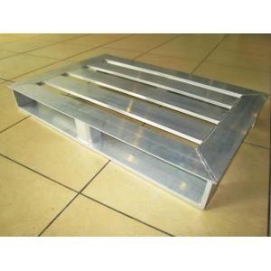 China 2 Way Lightweight Open Bottom Aluminum Pallet For Agricultural Industries on sale