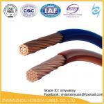 H05V-U / O PVC Insulated de H07V-U/R/H05V-K/H07V-K Não-revestiu únicos cabos do núcleo com o condutor de cobre flexível