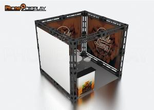 China 10x10 Truss Trade Show Booth / Easy Set Up Portable Exhibition Booth on sale