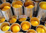 Organic no sugar added tasty sweet and sour canned sliced yellow peaches