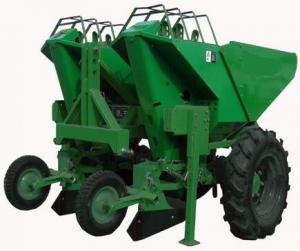 3 Point Hitch Tractor Potato Planter With Double Share