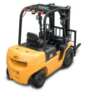 China Hangcha Brand Diesel Forklift Truck , 2 Ton Diesel Forklift With ISUZU Engine on sale