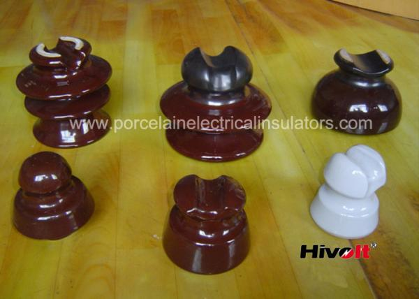 11kV And Below Porcelain Pin Type Insulators With Porcelain