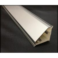 PVC 7 Skirting Kitchen Cabinet Baseboard With Aluminum Brush Fireproof