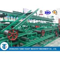 9-10t/h B1000 V Type Rubber Belt Conveyors for Transporting Fertilizer Granules