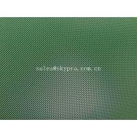 Industrial PVC Conveyor Belt Green Rubber Belts Rough Surface Grass Pattern