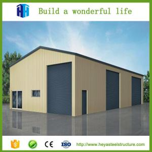 wide application prefabricated steel frame warehouse