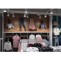 Decorative Commercial Apparel Store Fixtures , Department Store Clothing Racks