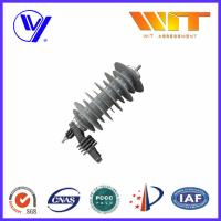 China Polymeric Metal Oxide Surge Arrester for Substation / AC - DC Converters / Power Distribution Units on sale