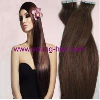 China tape hair extension new product 10-30silky straight various color hair styling best buy on sale