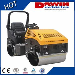 China 3 ton hydraulic tandem Ride-on double vibratory road roller(Hydraulic Steering) on sale